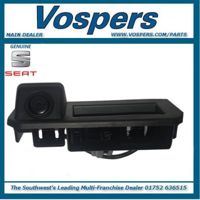 Genuine Seat Ateca Rear Handle Camera