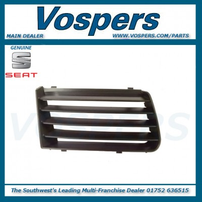 Genuine Seat Alhambra Front Right Hand / Off Side Upper Bumper Grille