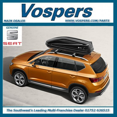 Genuine Seat 420L Luggage Rack Trunk Roof Box Brand New!