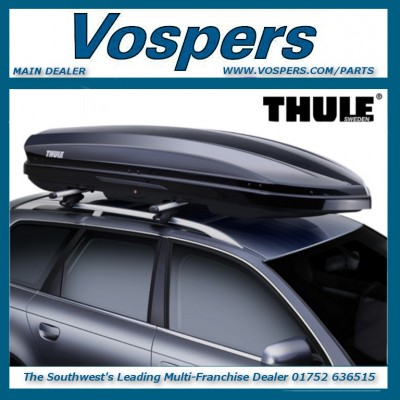 Thule Dynamic 800 (M) Car Roof Box Black Gloss Top Box Storage. Brand New!