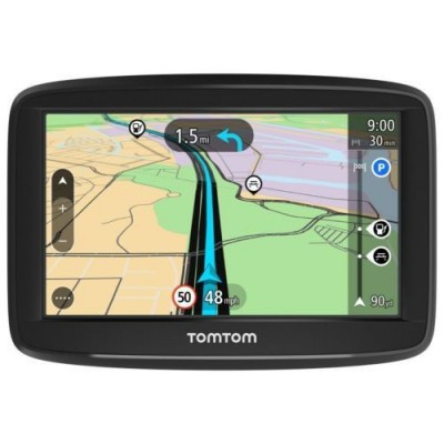 "TomTom Start 52 5"" Inch Sat Nav GPS UK ROI Lifetime Maps Updates Lane Assist"