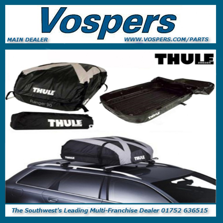 Thule Ranger 90 280 Litre Universal Foldable Roof Box Roof