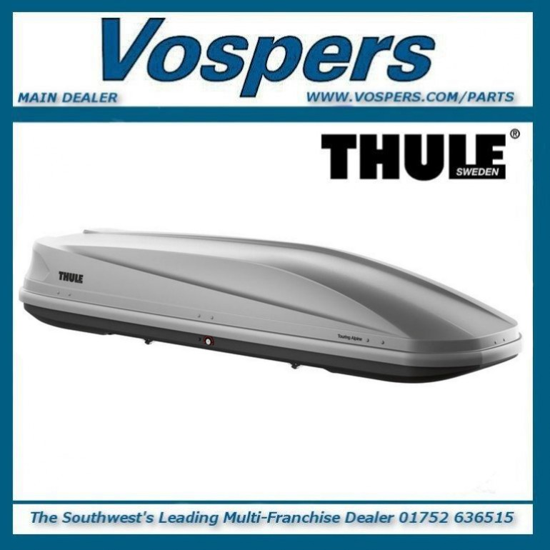 Thule Touring L (780) Silver Grey Aeroskin 400 Litre Roof Cargo Luggage Box