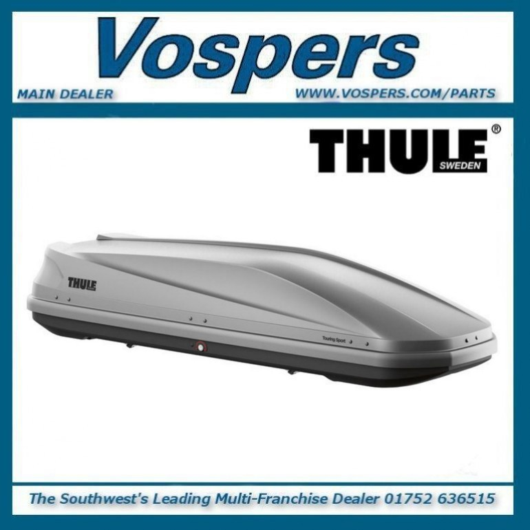 Thule Touring M (200) Silver Grey Aeroskin 400 Litre Roof Cargo Luggage Box