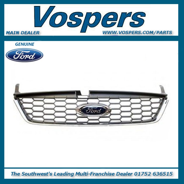 Genuine Ford Mondeo MK4 Dress Up Mid-Grey Front Upper Grille